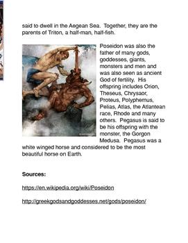 Greek Mythology: Poseidon