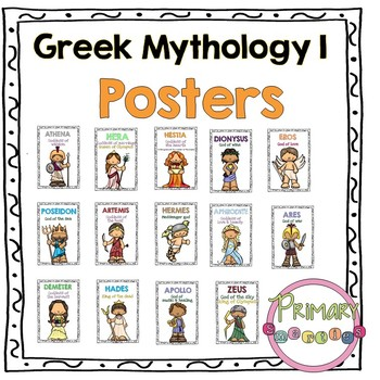 Greek Mythology Posters 1