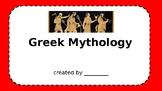 Greek Mythology Powerpoint