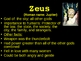 Greek Mythology Powerpoint - Olympic + other Gods w/ pictures + facts