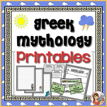 Greek Mythology Center Activities