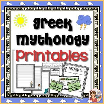 Greek Mythology Printables