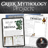Greek Mythology Projects- 2 Projects included!