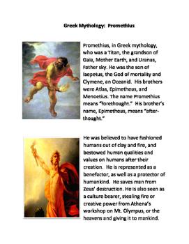 Greek Mythology: Prometheus