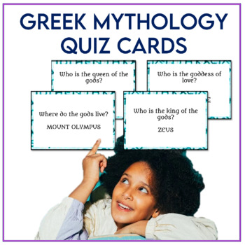 Greek Mythology Quiz Cards
