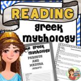 Greek Mythology Readers' Theater scripts & stories (Print and Google Slides)