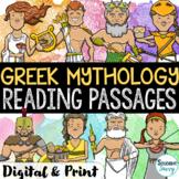 Greek Mythology Reading Comprehension Passages | Greek God