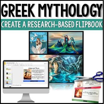 Greek Mythology Research-Based Interactive Layered Flip Book