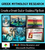 Greek Mythology Research Interactive Layered Flip Book: Greek Mythology Activity