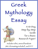 Greek Mythology Research Essay