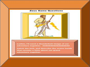 Greek Mythology Research Game: A Grand Adventure with Zeus