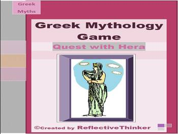 Greek Mythology Research Game: A Quest with Hera