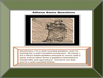 Greek Mythology Research Game: Waging War with Athena, CCSS Aligned