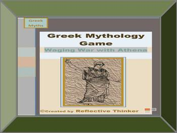 Greek Mythology Research Game: Waging War with Athena, CCS