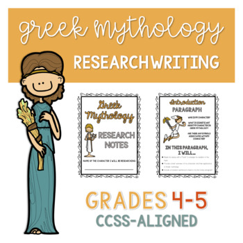 Greek Mythology Research Writing