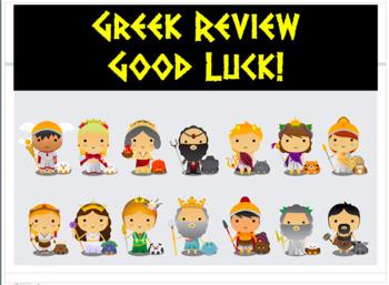 Greek Mythology Review Games
