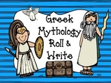 Greek Mythology Roll & Write