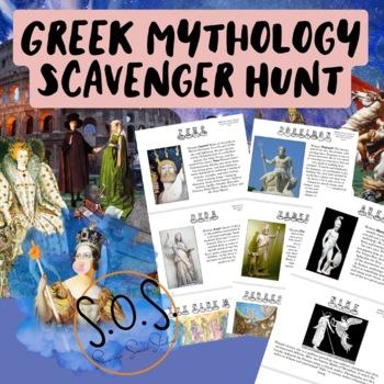 Greek Mythology Scavenger Hunt