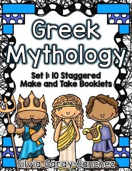 Greek Mythology Set 1 Staggered Booklets