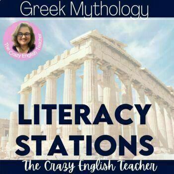Greek Mythology  Literacy Stations