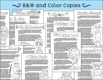 Greek Mythology Stories 4th - 6th Grade - Greek Myths