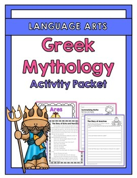 Greek Mythology Activities, Stories & Posters
