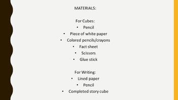 Greek Mythology Story Cubes Extension Project