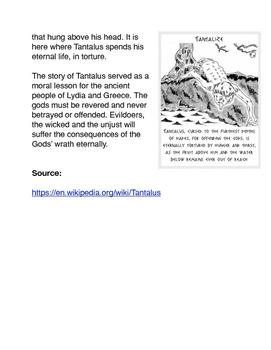 Greek Mythology Tantalus
