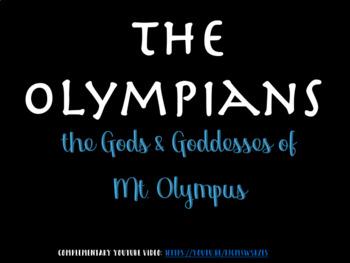 Greek Mythology: The Gods & Goddesses of Mt. Olympus