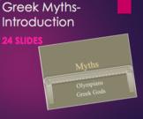 Greek Mythology - Introdution to The Greek Gods & Myths PPT