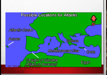 Greek Mythology - The Tale of Atlantis - 65 SLIDES PPT