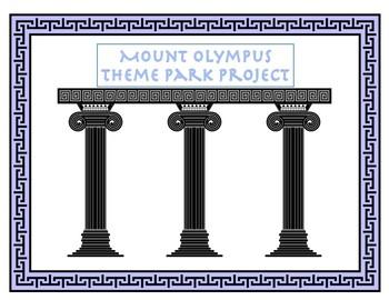 Greek Mythology Theme Park Project