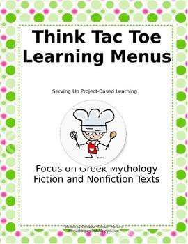 Greek Mythology Think Tac Toe