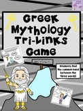 Greek Mythology Tri-Links Game