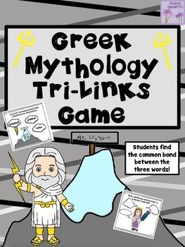 Greek Mythology Tri-Links Game