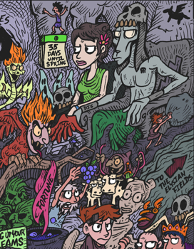 Greek Mythology Underworld Find-It Picture Puzzle