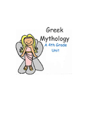 Greek Mythology Unit