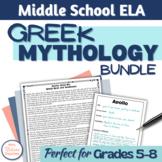 Greek Mythology Bundle for Middle School