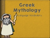 Greek Mythology Vocabulary and Task cards