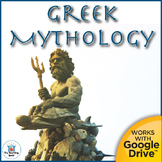 Greek Mythology WebQuest Interactive Notebook Unit