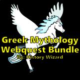 Greek Mythology Webquest Bundle