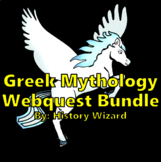 Greek Mythology Webquest Bundle