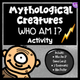 Greek Mythology Who Am I? Activity (Monsters/Creatures Edition)