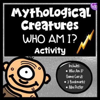 Greek Mythology Who Am I? Activity (Monsters/Creatures Edition)
