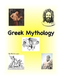 Greek Mythology Word Wall Vocabulary Cards