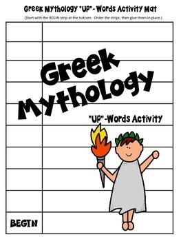 "Greek Mythology ""Up"" Words Activity (Version One)"
