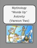 "Greek Mythology ""Up-Words"" Activity - Version Two!"