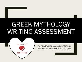 Greek Mythology Writing Assessment