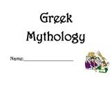Greek Mythology and Literary Elements