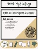 Greek Mythology:Purpose of Myth Assessment